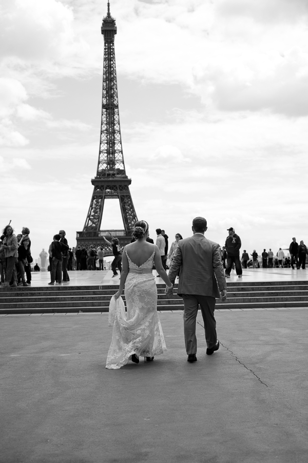 5/27//2011 Adam and Laura wedding in Paris American Cathedral (ceremony) The Eiffel Tower (dinner) photo by alison harbaugh